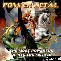 Quiz Co wolisz (Power Metal)
